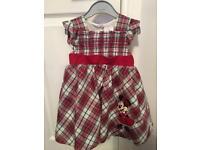 Baby tartan dress