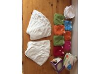 Gnappie reusable nappies in very good used condition