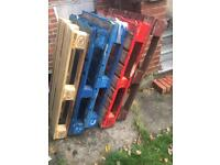 5 x Strong Wooden Pallets