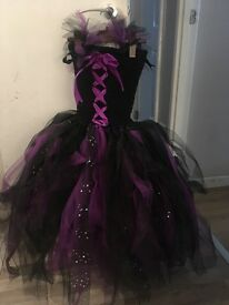 Girls Maleficent costume