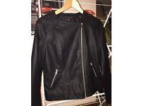 Dorothy Perkins leather look jacket