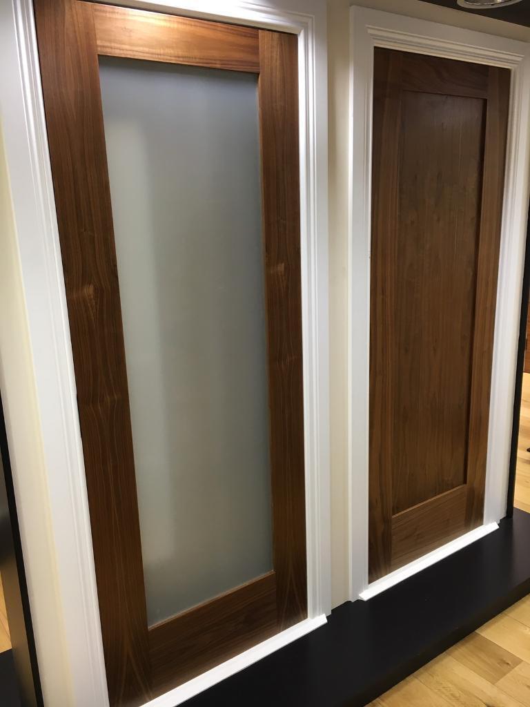 Massive sale on pre finished walnut interior doors