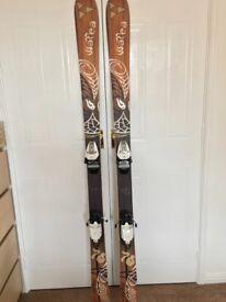 Fischer Watea 74 skis (174cm) & Nordica ski boots