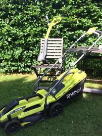 Electric Mower and Strimmer