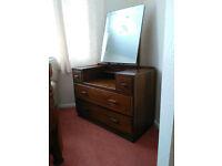 CC41 ( big cheese) Vintage WW2 Utility Furniture, Wardrobe, Dressing Table, Tallboy. May split