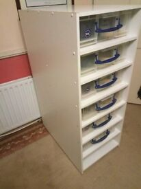 7 Tier 33ltr R.U.B Rack including all RUBs heaters and thermostat