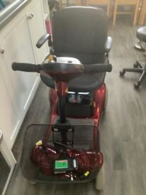 Supa Shoppa Mobility Scooter Red