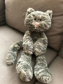 Jellycat Merryday Grey Cat - Fab condition