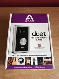 Apogee Duet for iPad, iPhone and Mac