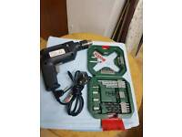 Electric drill with Bosch drill bits new 500w