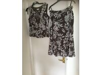 Basler matching skirt and top