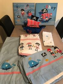 NEXT Bedding, Curtains, Pictures, Lamp Decoration, Pirate Theme
