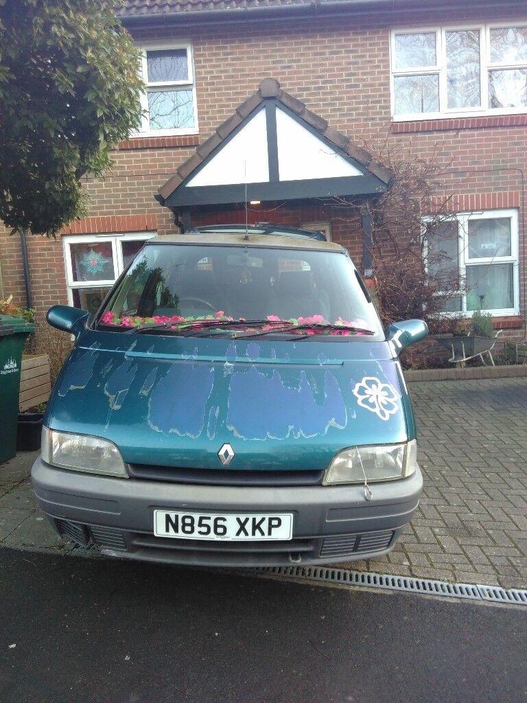 1995 Renault Espace,Family. 2 axle-rigid body. Diesel. 2068 cc. PLG. MOT 06/18