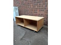 TV Unit / Stand - Pine wood £10 bargin