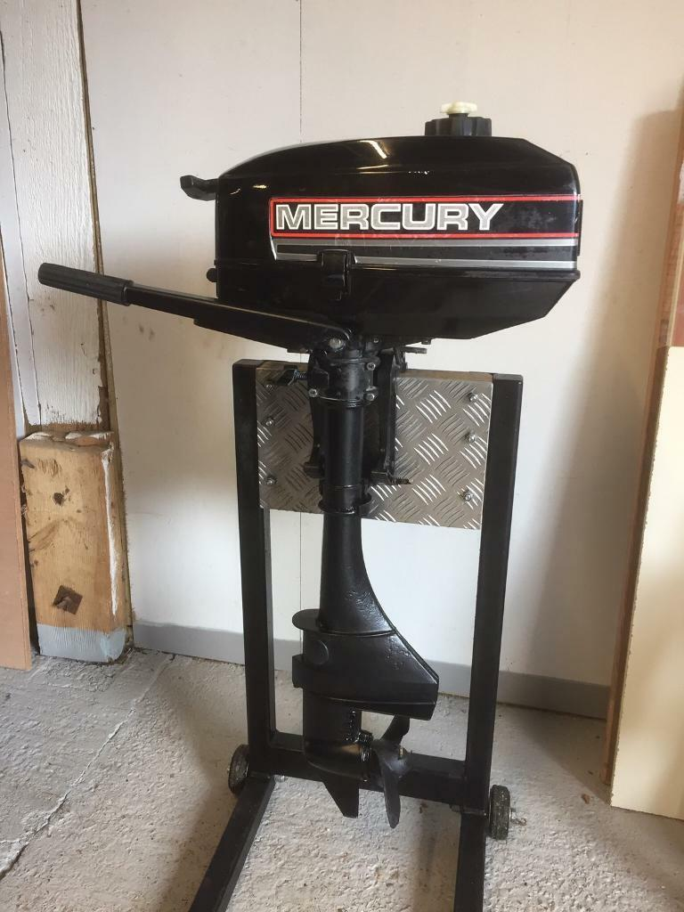 Mercury / Mariner 3 3 hp outboard motor | in Sarisbury Green, Hampshire |  Gumtree