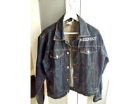 Jeans Jacket - Hell Fest (like new) For Sale
