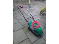 QUALCAST ELECTRIC LAWNMOWER/STRIMMER SET