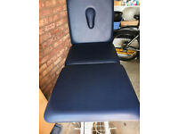 3 section electric physio/sports massage treatment couch.