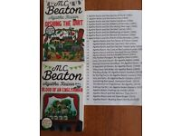 """A collection of 30 paperbacks by M C Beaton """"Agatha Raisin"""""""