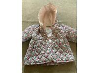 M&S floral coat