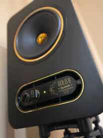 speakers tannoy active monitor gold 8 pair
