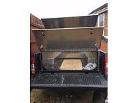 Waterproof secure lockable aluminium tool/storage box