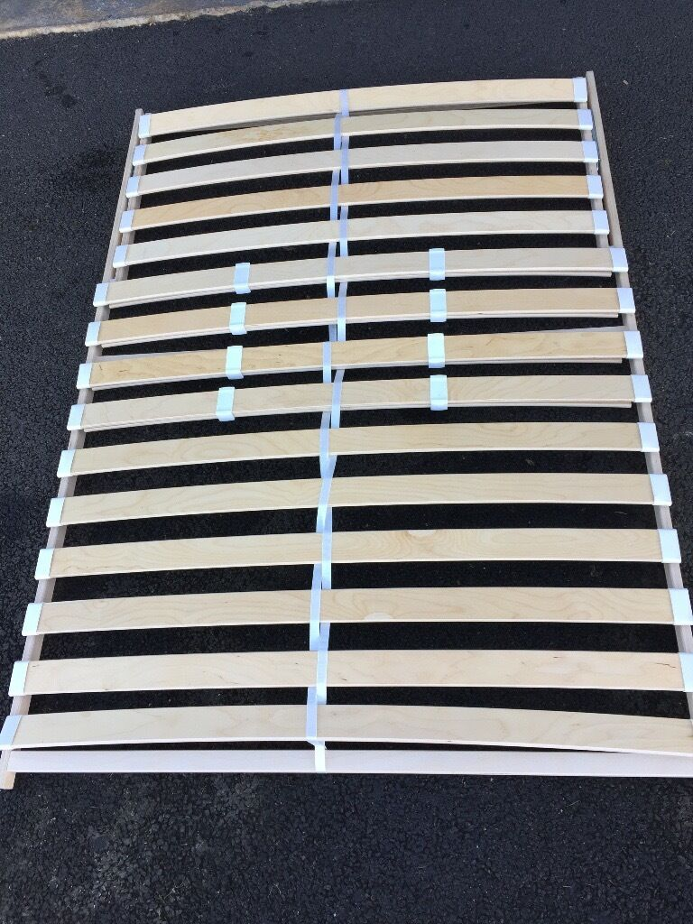 Ikea Slatted Double Bed Base