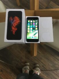 Apple iphone 6s space Gray 64 GB with box and charger