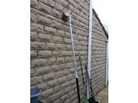 ECKMAN ELECTRIC TELESCOPIC CHAIN SAW PRUNER - EXCELLENT WORKING ORDER - CHAIN COVER & CHAIN SAW OIL