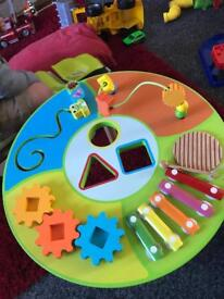Toddlers activity table