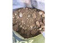 Free sandy soil bags