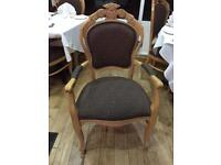 Chair and table for restaurant