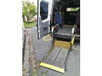 Ricon vehicle walk through Wheelchair Lift