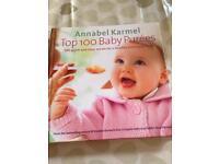 Annabel Karmel top 100 baby purees.