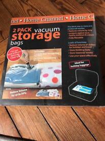 2 Pack Vacuum Storage Bags