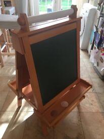 KidKraft - Wooden Easel - 2 sided