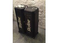 2xTrade/Art show materials flight cases