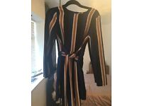 Charlotte Crosby beautiful navy playsuit size 8