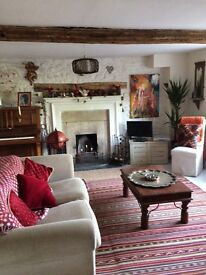 Lovely 1760s cottage in the beautiful village of Box near Bath .
