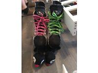 Size 8 ice hockey boots £40 Ono