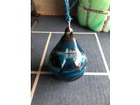 Aqua training bag water filled punch bag new