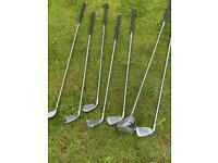 Brand new selection of various golf clubs by Donnay see description £5 each no offers
