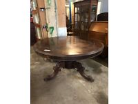 Antique Georgian Rosewood Tip-up Table