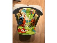 Fisher price rainforest swing and seat