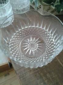 Vintage arcoroc France bowl