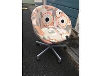 Daisy soft swivel chair Ikea