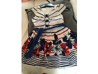 Girls summer dress bundle age 7-8