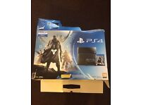 Play Station 4 500Gb Jet Black 2 Controllers 10 Games 250£