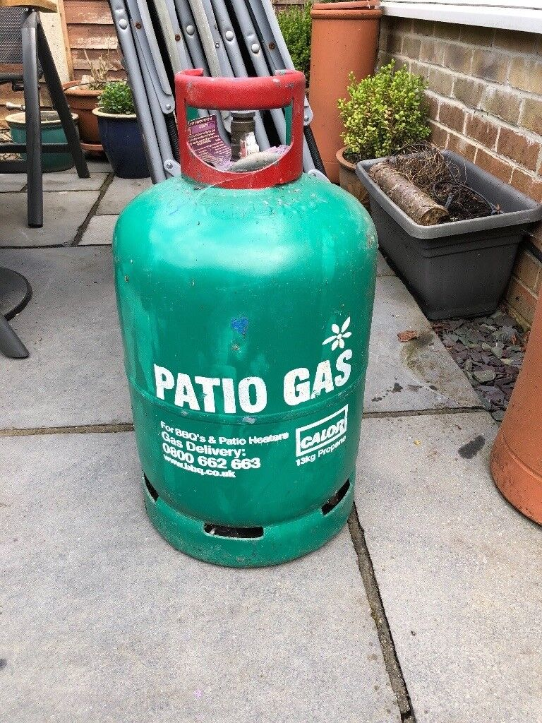 13kg Gas bottle for bbq /patio heater plus regulator ...