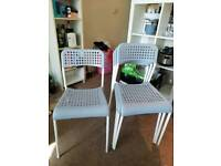 Set of Chairs x4